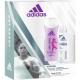Adidas GP Women Deo 150ml + Shower 250ml Adipure