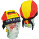 Fan Piratenhut Deutschland aus Polyester One-Size