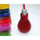 Ampoule bouteille 24x15x8cm, couleurs assorti