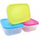 Élelmiszer-tároló doboz 1L, színek szortírozott ki