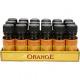 Huile essentielle d'orange bouteille en verre