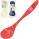 Cutlery assorted Set of 6 colored assorted in poly