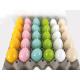 Pasqua candela 60g, 6 brillante colore lucido