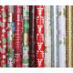 Geschenkpapier Rolle 2m x 70cm 7-9 Weihnachtsmot.