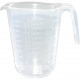 Maatbeker 1 liter transparant 16 x 13cm