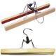 Hangers broekenpers op hout 25cm met wit