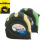 Measuring tape roll 3m housing with rubber grip 6x