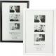 Fotolijst 10x15cm glanzend zwart / wit geassorteer