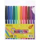 Felt pens 12pcs in blister pack for the school 13c