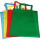 Bag boodschappentas stof 42x38cm in 4 kleuren
