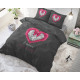 Romance Heart Anthracite 140 x 220 Anthracite