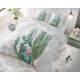Cactus Marble Green 140 x 220 Green