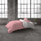 Two Tone Pink / White 200 x 220 Pink