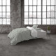 Two Tone Gray / White 140 x 220 Gray