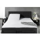 Split Topper Duo Fitted Sheet White 200 x 200/220