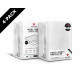 Fitted Sheet 4 pack Hotel Jersey White 80/90 x 200