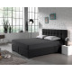 Hotel JerseyFitted Sheet Anthracite 140 x 200 Antr
