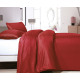 Satin Point Red 140 x 220 Red