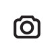 Gewürzstreuer Glas mit Kunststoffdeckel schwarz