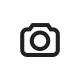 LED Weihnachtskugeln Kunststoff 'Weiß mit Gold Spr