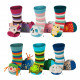 Children and baby clothes - baby socks with sound