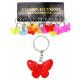 Butterfly meerdere sort voor Sleutelhanger -
