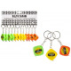 Tape measure 1 meter by - at key chain -