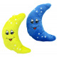 Moon with face 2-way assorted - ca 24cm