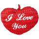 Corazón rojo 'Te amo' Ca 25 cm