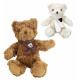 Bear with scarf 2- times assorted - about 22cm