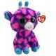 Giraffe rosa di Ty Beanie Boo Glubschi / ca blu 16