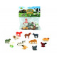 Farm animals in the bag 12- times assorted - about