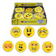 Sourire Gomme multiples assorti - environ 45 mm