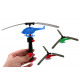 Shoot Em Up Helicopter multiple assorted - ca 9cm