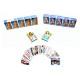 54 tarjetas con motivos hoja de juego femenina