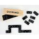 gioco di domino in una scatola di legno - circa 16
