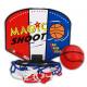 Basketbalwedstrijd ongeveer 13 x 11 cm