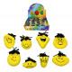 KNETGESICHT Funny Face sárga - 8- szer szortírozot
