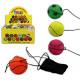 Palla di ritorno a sfera 4 pz colori assortiti - c