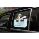 Window sticker girl, Baby on board, - ca 35x2