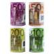 Salvadanaio XL con Euro Design 4- volte assortito