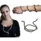 Collana e bracciale serpente design color argento