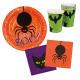 Placemat 'Halloween' 6 Borden, 6 kopjes, 1