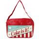 COKE bag AMERICANA - ca 37x28x10cm
