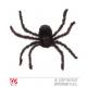 Araña peluda XXL - cerca de 75cm