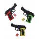 Ball pistol black / red 0.08 Joule