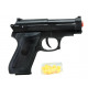 Ball pistol with magazine 0.08 joules in the bag -