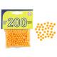 Bullet ammunition 200 pieces in a bag