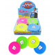 Frisbee 4 assorted mini with tooth motif - ca 10