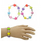 Bracelet 2-times assorted -ter and heart circumfer